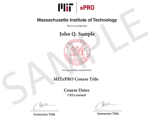 Mit Xpro Data Science And Big Data Analytics Program Pearson